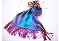 2013New Arrive Scarf Fashion Grid Patterm stripe CHANGE COLOR  scarf Female models  chiffon scarf super long scarf Women Scraf