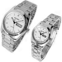 Free shipping Wilon classic calendar lovers watch 2