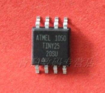 ATTINY25-20SU ATTINY25 TINY25 SOP-8 ATMEL 8-bit Microcontroller New & Original