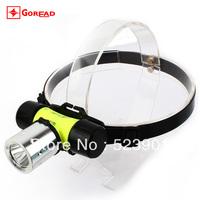 Best Quality CREE XM-L T6 LED 1600LM Waterproof 60m Diving Headlamp Dive Headlight Underwater Fishing light Flashlight