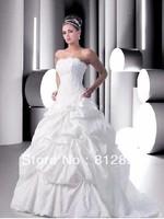 High Quality!   White Ball Gown Wedding Dresses Wedding Attire Dresses Pageant Dress Custom Made Size 2-10 12-20 JLW923335