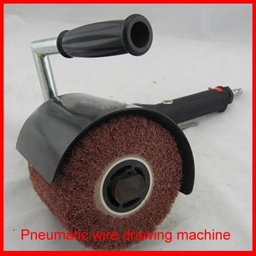 wire brush machine
