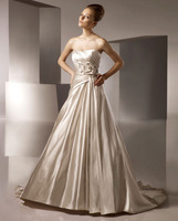 High Quality!   Champagne Ball Gown Wedding Dresses Wedding Attire Dresses Pageant Dress Custom Made Size 2-10 12-20 JLW923349