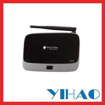 Android 4.2 TV Box RK3188 Quad Core Mini PC RJ-45 USB WiFi XBMC Smart TV Media Player with Remote Controller