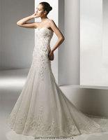 High Quality!   White  Ball Gown Wedding Dresses Wedding Attire Dresses Pageant Dress Custom Made Size 2-10 12-20 JLW923346