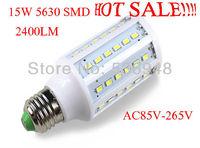 E27 15W 60 LED 5630 LED Corn  Bulb Lamp Warm White Cool White
