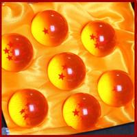 High Quality Hot 7x JP Anime DBZ DragonBall Z Stars Crystal Ball Set