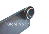 For iphone4/4s 5 5S samsung galaxy S3 S4 note2 HTC sony universal top quality 235 degree clip fisheye camera lens 20pcs/lot