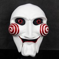hot sale movie theme high quality mask Halloween Mask Saw chainsaw killer theme mask Resin mask
