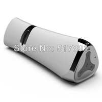 iWitP New Design Bluetooth Speaker for iPhone 5S with External 6600mAh Battery Mobile Power Bank and LED Flashlight