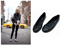 Fashion flat hm princess shoes single shoes round toe shallow mouth shoes candy color cute shoes