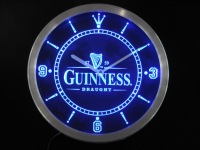 nc0090 Guinness Vintage Logo Beer Bar Neon Sign LED Wall Clock Wholesale Dropshipping
