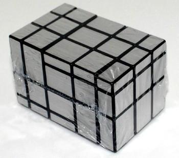 New Rare Silver Fused Mirror Block Magic Cubes Puzzle Toys mf39