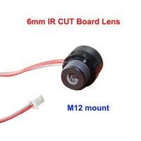 Shenzhen kingman good quality best price 6mm IR CUT board lens+free shipping