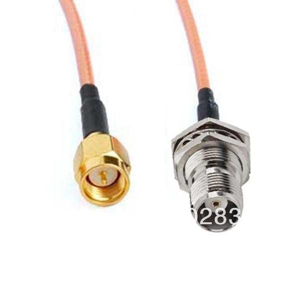 10pcs/lot 20cm Extension cable TNC Female to SMA Male RG316 for Huawei B932 B933 E960 E970(China (Mainland))