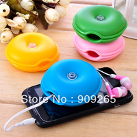 YBB 6.5x2.6cm Small Turtle Electrical Wire Storage Cable Winder Junction Box Reel Management-Ray Device Random mixed
