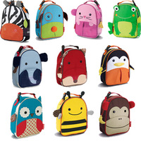 Children Animal meal cartoon lunch bag snack insulation bag portable picnic bag