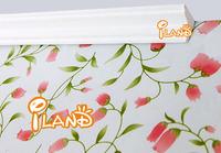 iland Dollhouse miniature molding wood trim top line log right-angle 12pcs white OA001