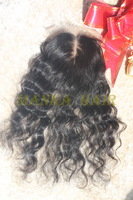 "100% brazilian lace closure virgin human hair 12""-20"""