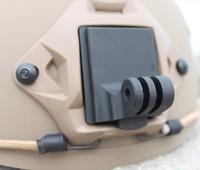 F06678 Helmet Aluminum Fixed Mount for Camera Gopro Hero3 Hero2 HD and NVG Mount Base + FS