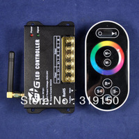 Top rated 2.4G LED RGB Full Color Controller With Touch Remote best china led rgb light controller