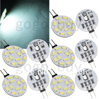 20pcs Super Bright G4 LED 12 SMD 5630 Car Pure White Cabinet RV Light Bulb Lamp  for good price  free shipping