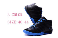 Fashion Men's Sneakers Warm Shoes Slip Man Sports shoes high-help First layer leather slip waterproof Skid off-road shoes 40-46