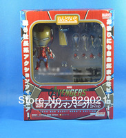 "freeshipping 4""Hero's Edition Nendoroid Series Q284 Avengers Iron Man Mark 7 Action Figure"