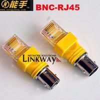 Bnc-rj45 adapter rj45 bnc adapter bnc rj45 adapter