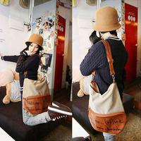 New Stylish Fashion Korean Women Handbag Canvas School bag Bag Backpack Purse