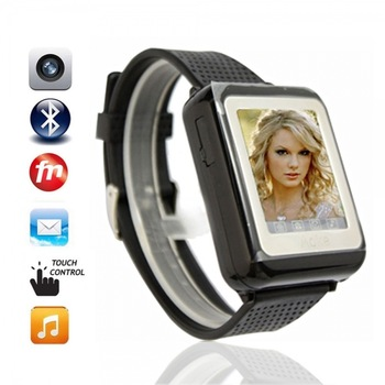 AK09 Single Core GSM 900/1800/1900mHz Bluetooth Wrist Watch Phone Free Shipping