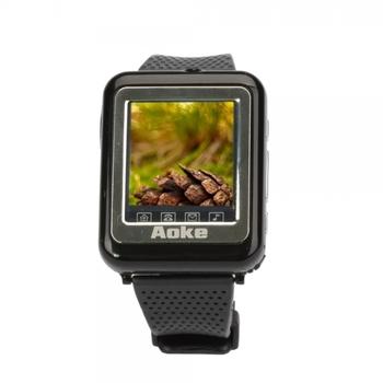 "Free Shipping 1.3"" Single Core Single SIM GSM Unlocked AK09 Wrist Watch Phones Support Bluetooth Function"