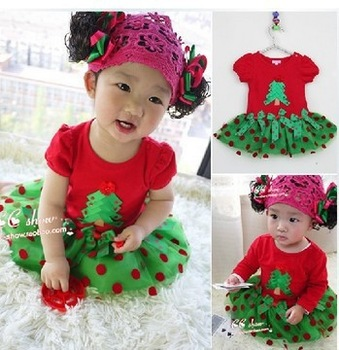 Retail Children's Christmas dress, girls Christmas dress, children's Christmas clothes,Children's clothes,girls dress