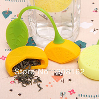Lemon's Tea Infuser Silicone Tea Bags Tea Strainers Filter Tea Bay Bar Tools Drinkware