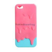 3D Design Melting Ice Cream Hard Case Protector for Apple iPhone 5 Vivid V3NF