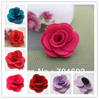 New Arrival Children Hair Accessories Hair Band Flower 2.36'' DIY Flowers for Headbands Clips Tutu top Freeshipping 200pcs F77