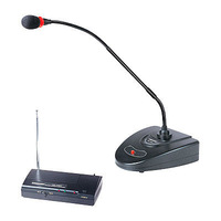 Takstar ms-168w wireless gooseneck microphone desktop conference microphone with transimitter for speech broadcasting