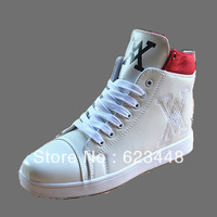 Autumn and winter thermal fashion male high-top shoes male shoes tide of the casual shoes male boots fashion boots skateboarding