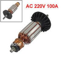 AC 220V 100A 5 Teeth Electric Motor Rotor for Bosch 2-24 Churn Drill