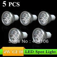 5PCS 4W/12W GU10 AC85~265V white/warm white LED Bulb Light Spot Light LED Light Lamp with -------------Limited Time Offer