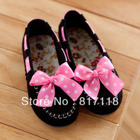 Free shipping, Summer new arrival 2013 hot-selling Moccasins bow baby shoes single shoes wide shoes