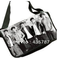2013 newest one direction message bag,one-way school shoulder bag,7 designs options 1D product free shipping