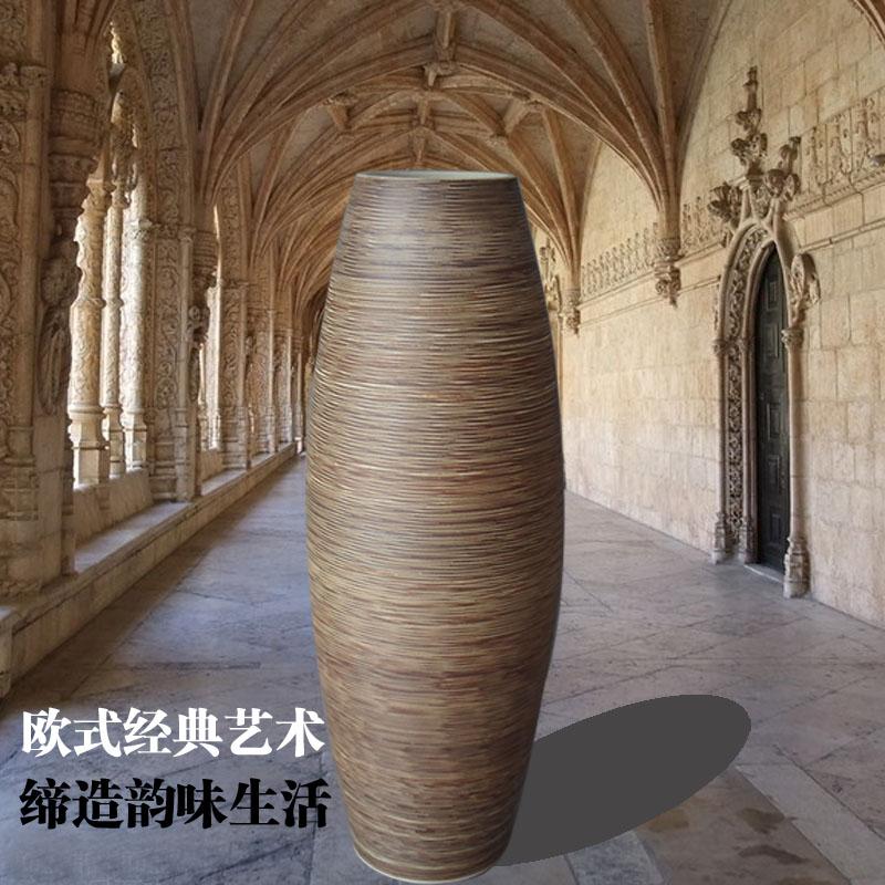 Fashion Classic Lusterware Large Floor Vase Modern Brief