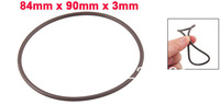 Fluorine Rubber O Ring Oil Sealing Gaskets 90mm x 84mm x 3mm