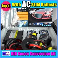 FREE SHIPPING! high quality Ac 35W hid xenon kit H1,H3,H6,H7,H8,H9,H10,H11,9005(HB3),9006(HB4) 4300K 6000K