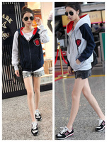 Semir 2013 autumn plus size clothing sweatshirt cardigan hooded casual long-sleeve fleece outerwear