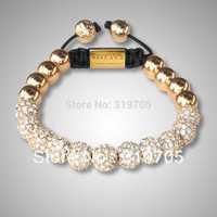 2013 new style  popular shamballa bracelet for women