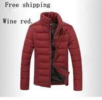 2013 new fashion men's winter jacket Men's Slim Down coat jacket Free shipping