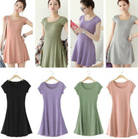 new 2013 casual dress Plus size spring and summer short-sleeve dress multicolor elastic plus size plus size  free shipping