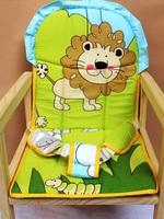 100% cotton cushion cart seat cartoon cushion full set of chair